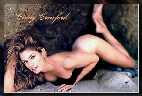 Cindy Crawford : –  mannequin & actrice sexy…
